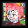musee mechanique - 06 clown - 12 x 12 lim. ed. print